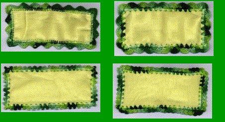 Flannel Blanket Edgings